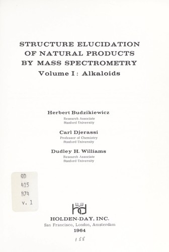 Download Structure elucidation of natural products by mass spectrometry