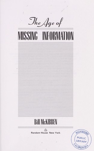 Download The age of missing information