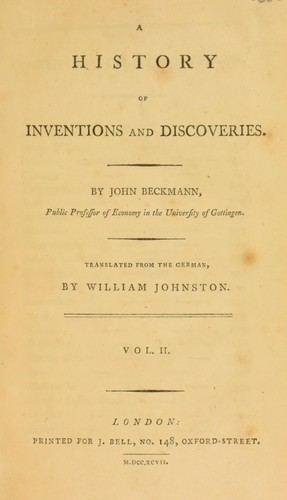 Download A history of inventions and discoveries.