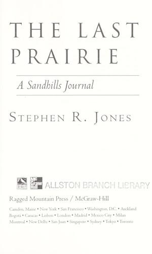 Download The last prairie