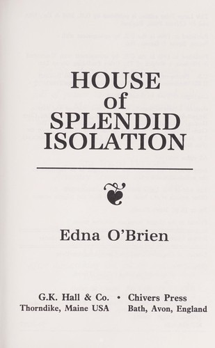 Download House of splendid isolation