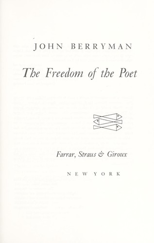 Download The freedom of the poet