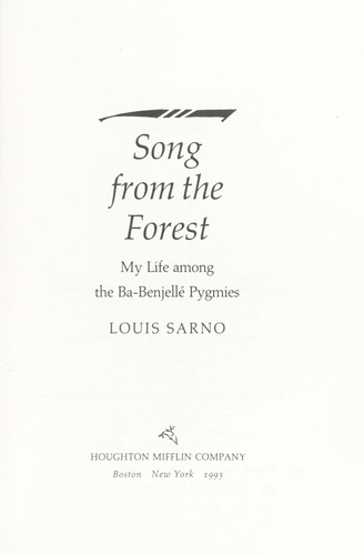 Download Song from the forest