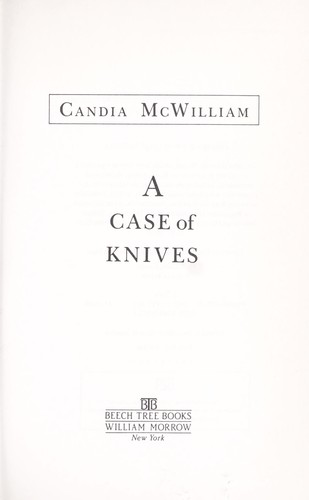 A case of knives