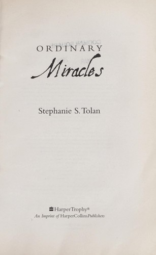 Download Ordinary miracles