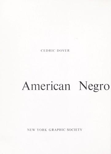 Download American Negro art.