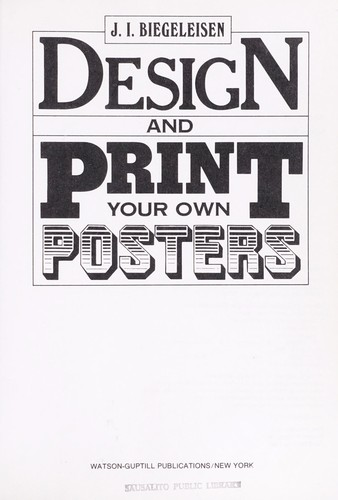Download Design and print your own posters