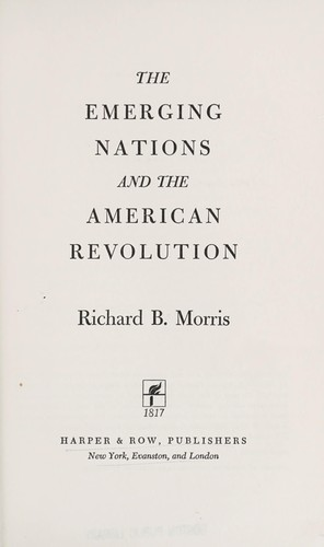 The emerging nations and the American Revolution