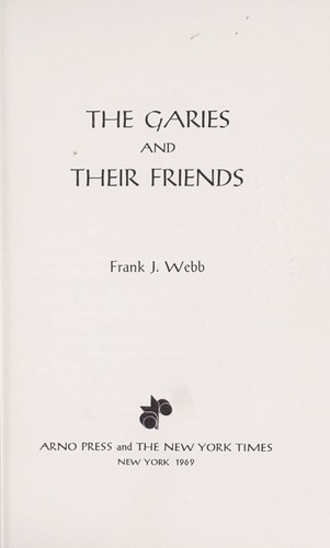 Download The Garies and their friends