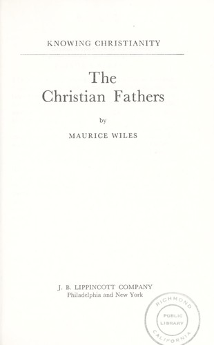 Download The Christian fathers