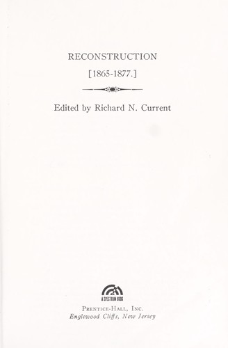 Download Reconstruction, 1865-1877
