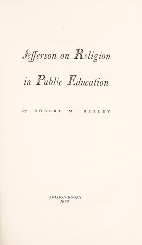 Jefferson on religion in public education