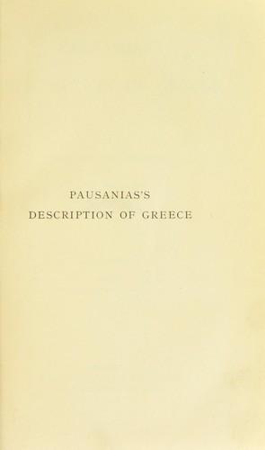 Download Pausanias's Description of Greece