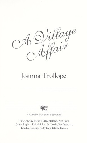 Download A village affair