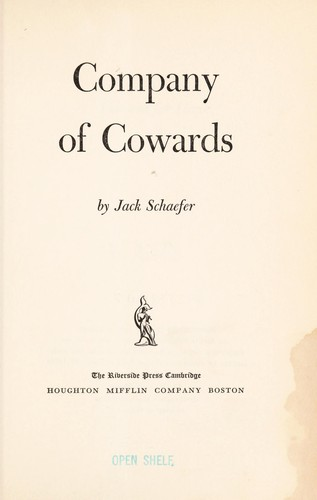Company of cowards.