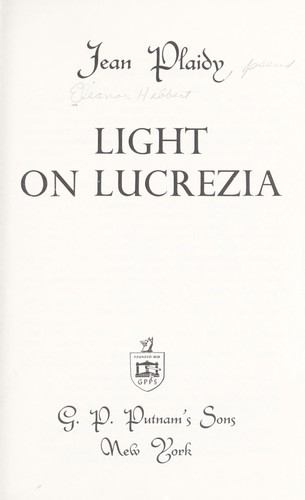 Download Light on Lucrezia