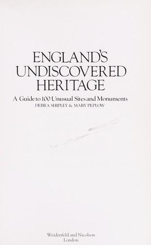 England's undiscovered heritage
