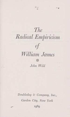 Download The radical empiricism of William James