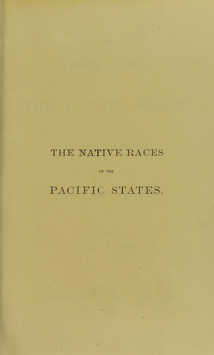 Download The native races of the Pacific states of North America