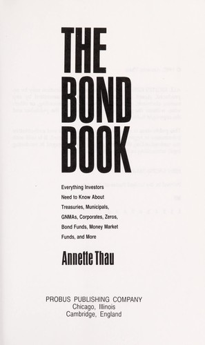 Download The bond book