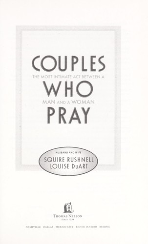 Download Couples who pray