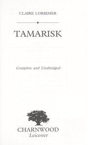 Cover of: Tamarisk | Claire Lorrimer