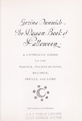 Download The pagan book of Halloween