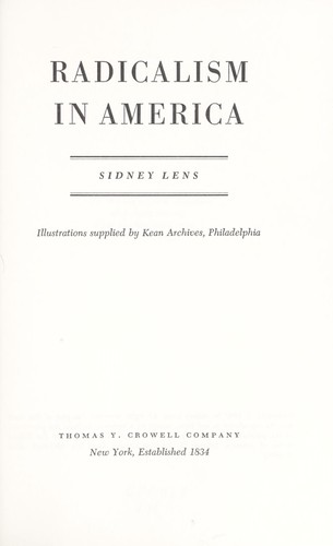 Download Radicalism in America.