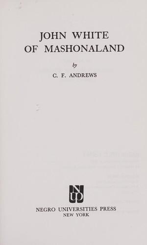 Download John White of Mashonaland.