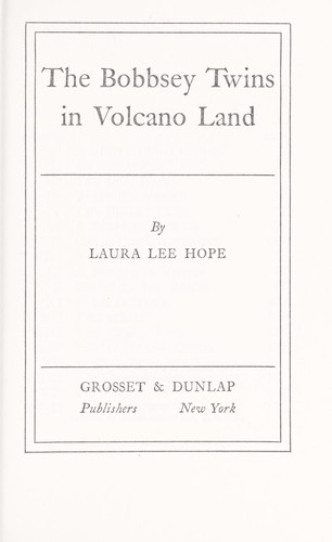 The Bobbsey twins in volcano land.