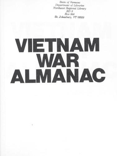 Download The Vietnam War Almanac