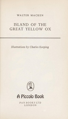 Island of the great yellow ox