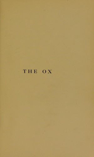The ox and its kindred
