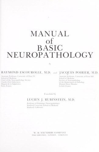 Download Manual of basic neuropathology