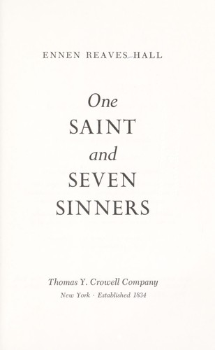 Download One saint and seven sinners.