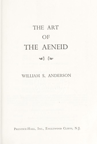 Download The art of the Aeneid