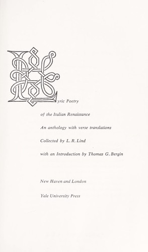 Download Lyric poetry of the Italian Renaissance