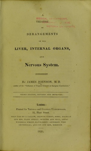 Download A treatise on derangements of the liver, internal organs, and nervous system
