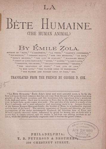 Download La bête humaine.