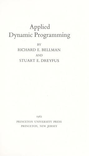 Download Applied dynamic programming