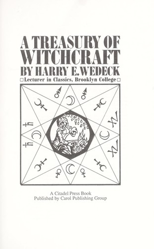 Download A treasury of witchcraft