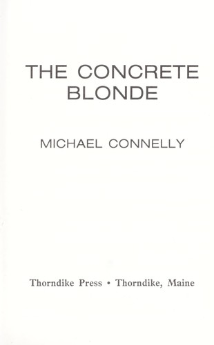 Download The concrete blonde
