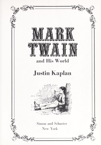 Download Mark Twain and his world