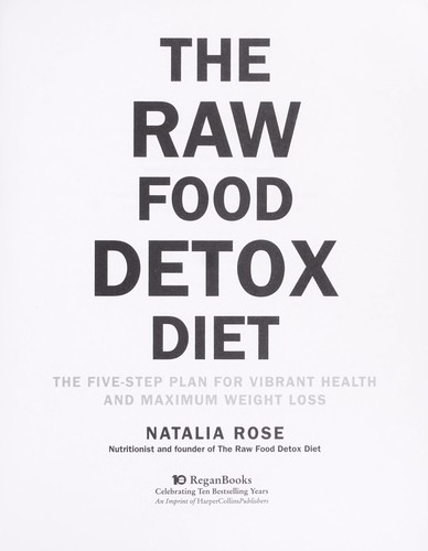 Download The raw food detox diet