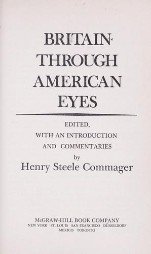 Download Britain through American eyes.
