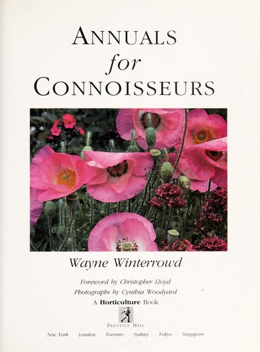 Annuals for connoisseurs