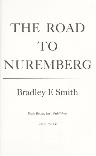The road to Nuremberg