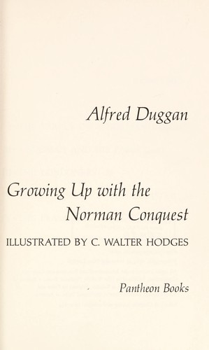Download Growing up with the Norman Conquest