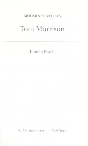 Download Toni Morrison