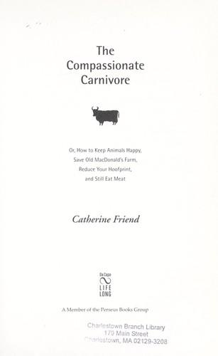 Download The compassionate carnivore